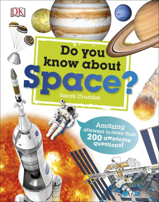 Hardback cover of Do You Know About Space?
