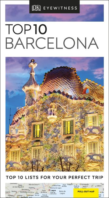 Paperback cover of Top 10 Barcelona