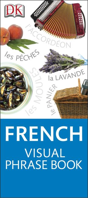Paperback cover of French Visual Phrase Book