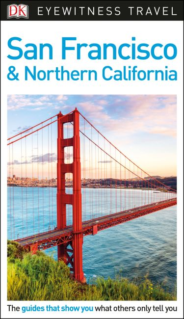 Flexibound cover of DK Eyewitness Travel Guide San Francisco and Northern California