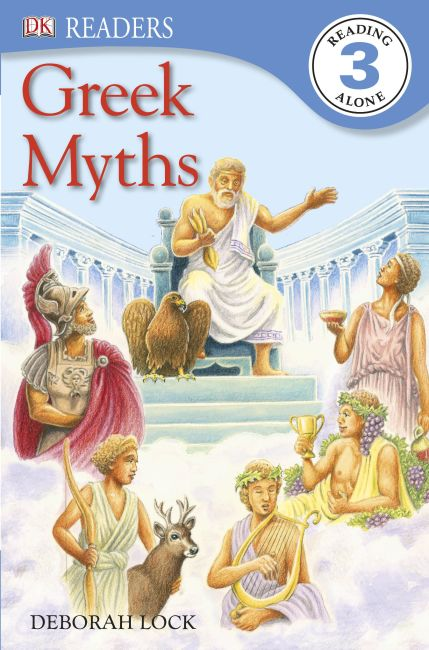 eBook cover of Greek Myths