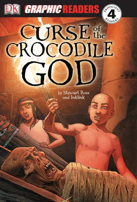 eBook cover of The Curse of the Crocodile God