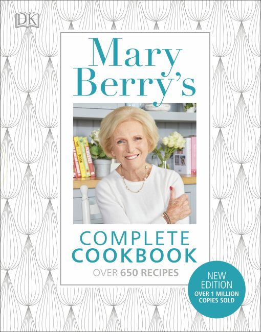 Hardback cover of Mary Berry's Complete Cookbook