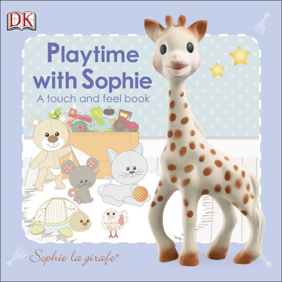 Board book cover of Sophie la Girafe: Playtime with Sophie