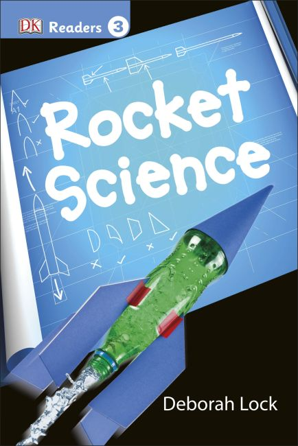 Hardback cover of DK Readers L3: Rocket Science