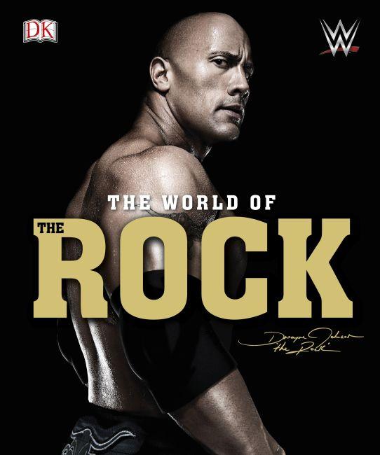 Hardback cover of WWE World of the Rock