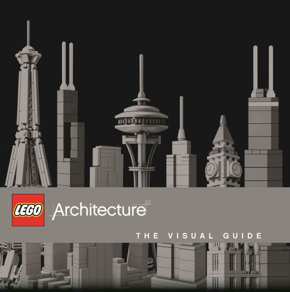 Hardback cover of LEGO® Architecture: The Visual Guide