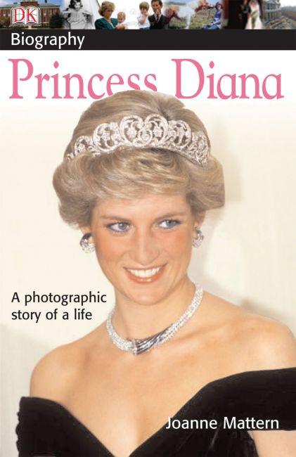 Paperback cover of DK Biography: Princess Diana