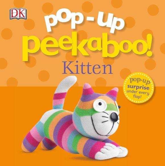 Board book cover of Pop-Up Peekaboo! Kitten