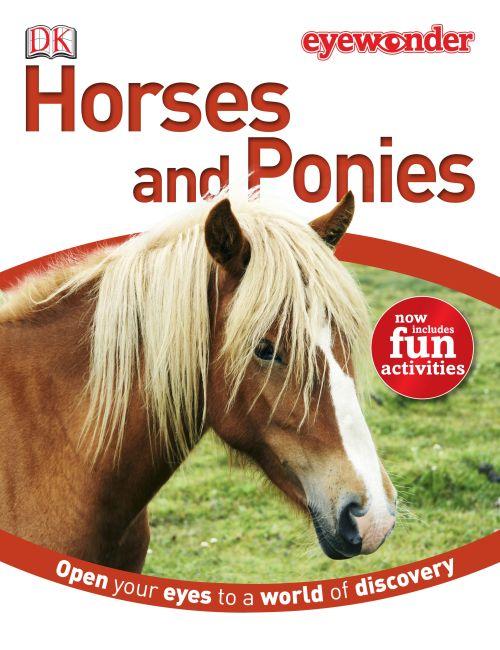 Hardback cover of Eye Wonder: Horses and Ponies