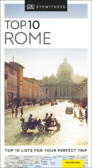 Paperback cover of Top 10 Rome