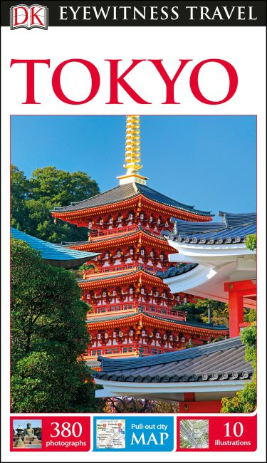 Flexibound cover of DK Eyewitness Travel Guide Tokyo