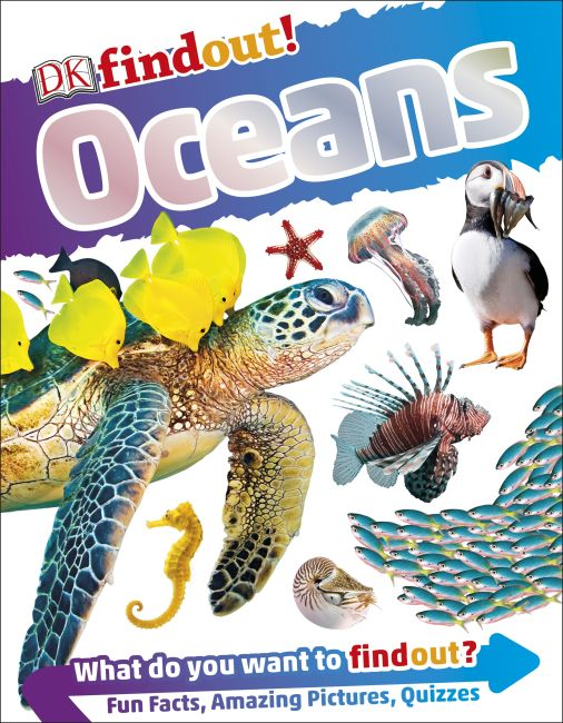 Paperback cover of DKfindout! Oceans