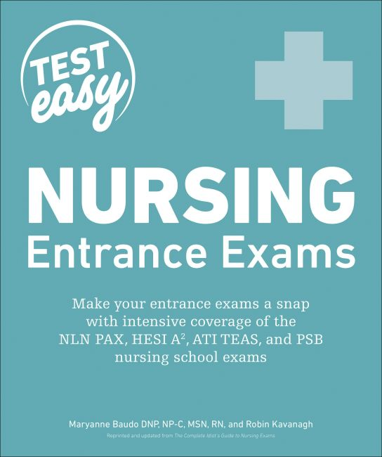 Paperback cover of Nursing Entrance Exams