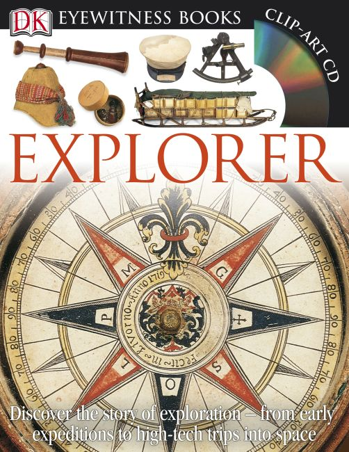 Hardback cover of DK Eyewitness Books: Explorer