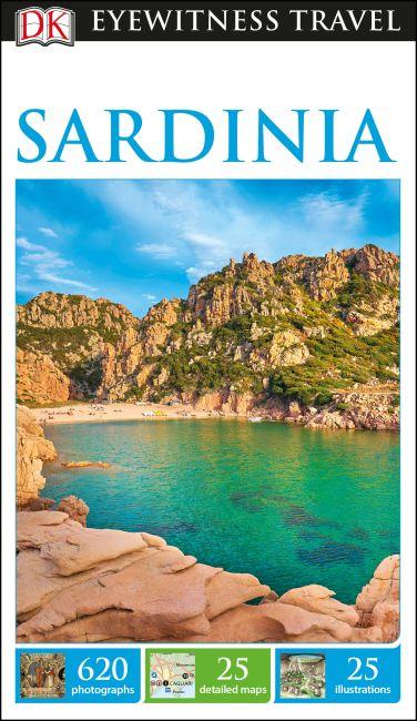 Flexibound cover of DK Eyewitness Travel Guide Sardinia