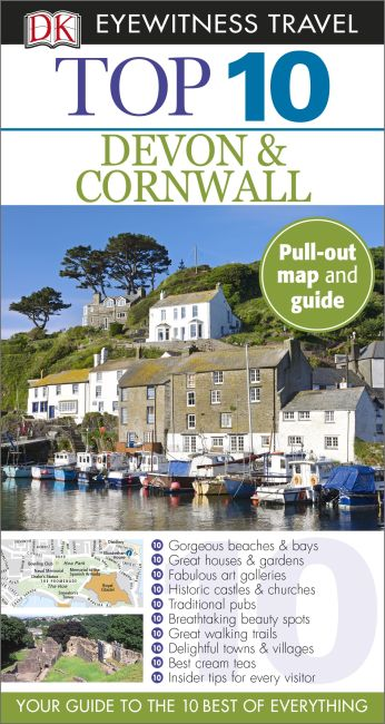 Paperback cover of Top 10 Devon and Cornwall