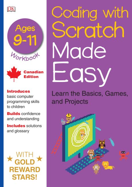 Paperback cover of Coding With Scratch Made Easy