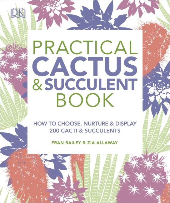 Paperback cover of Practical Cactus and Succulent Book