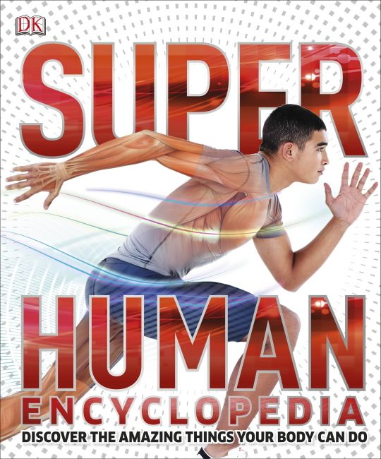 Hardback cover of Super Human Encyclopedia