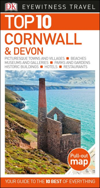 Paperback cover of Top 10 Cornwall and Devon