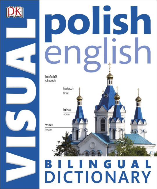 Paperback cover of Polish English Bilingual Visual Dictionary