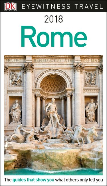 Flexibound cover of DK Eyewitness Travel Guide Rome