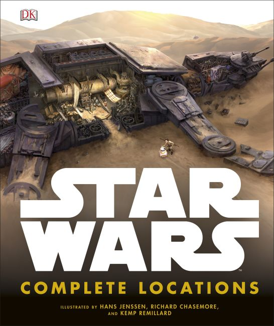 Hardback cover of Star Wars Complete Locations