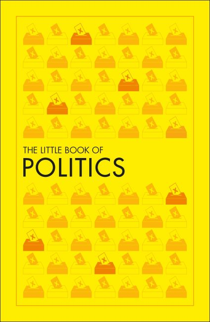 Paperback cover of The Little Book of Politics