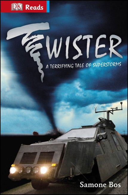 eBook cover of Twister! Terrifying Tales Of Superstorms