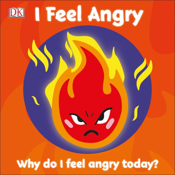 Board book cover of I Feel Angry
