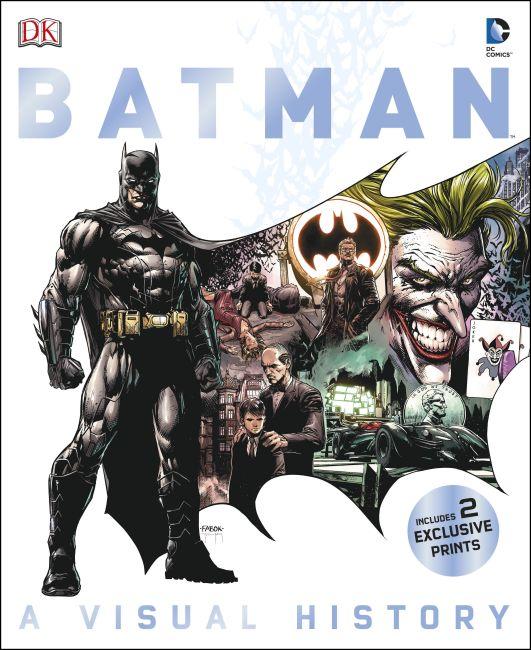 Hardback cover of Batman: A Visual History