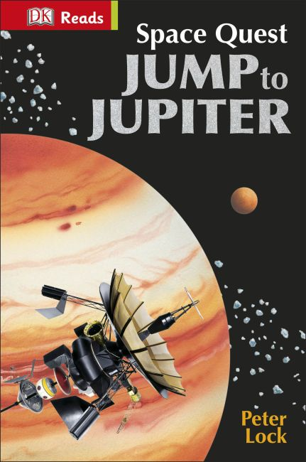 eBook cover of Space Quest Jump to Jupiter