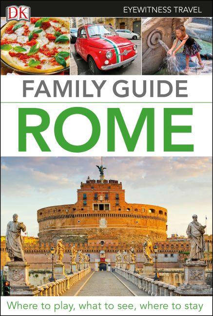 Flexibound cover of Family Guide Rome