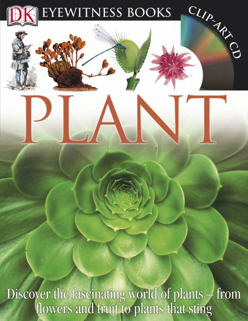 Hardback cover of DK Eyewitness Books: Plant