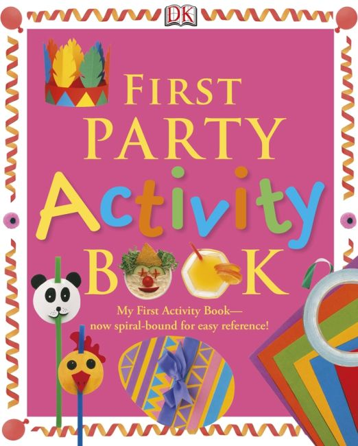 eBook cover of First Party Activity Book