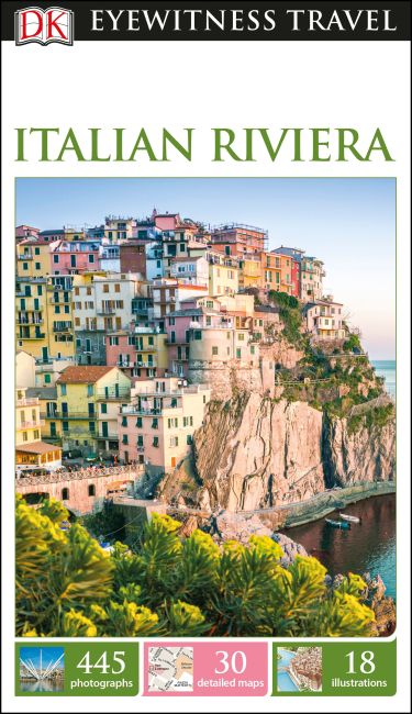 Flexibound cover of DK Eyewitness Travel Guide Italian Riviera