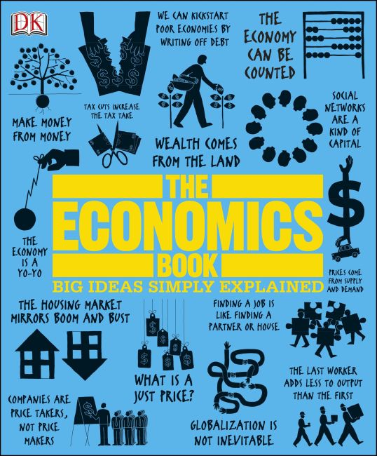Hardback cover of The Economics Book