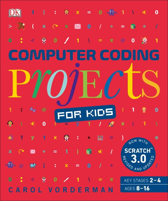 Flexibound cover of Computer Coding Projects for Kids