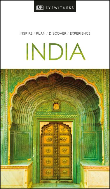 Paperback cover of DK Eyewitness Travel Guide India