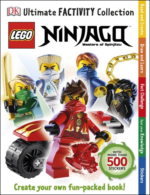 Paperback cover of LEGO® Ninjago Ultimate Factivity Collection