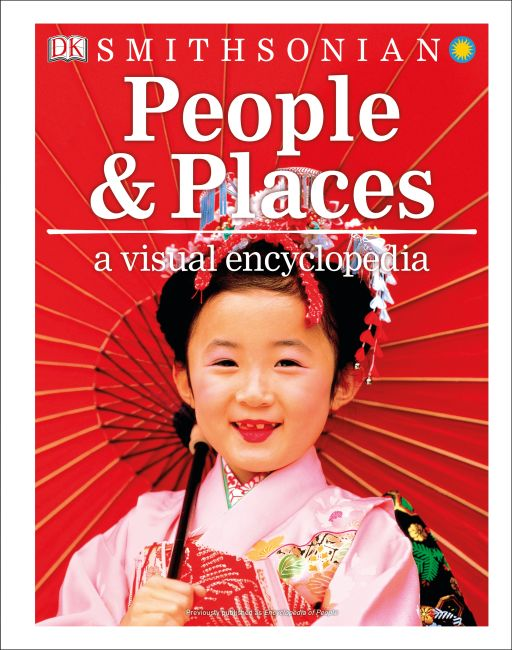 Hardback cover of People and Places: A Visual Encyclopedia