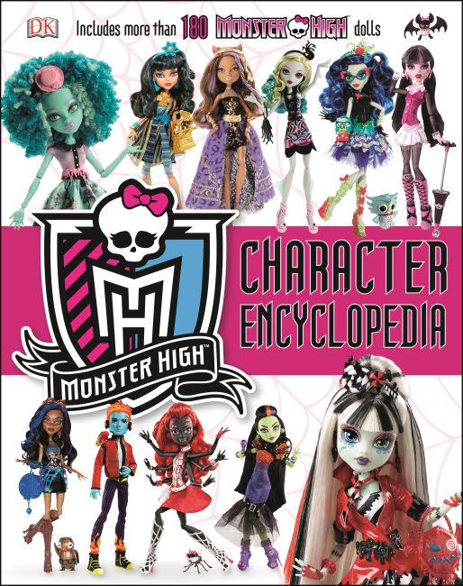 Hardback cover of Monster High Character Encyclopedia