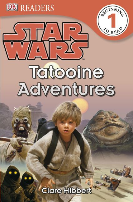 Paperback cover of DK Readers L1: Star Wars: Tatooine Adventures