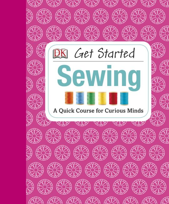 eBook cover of Get Started: Sewing