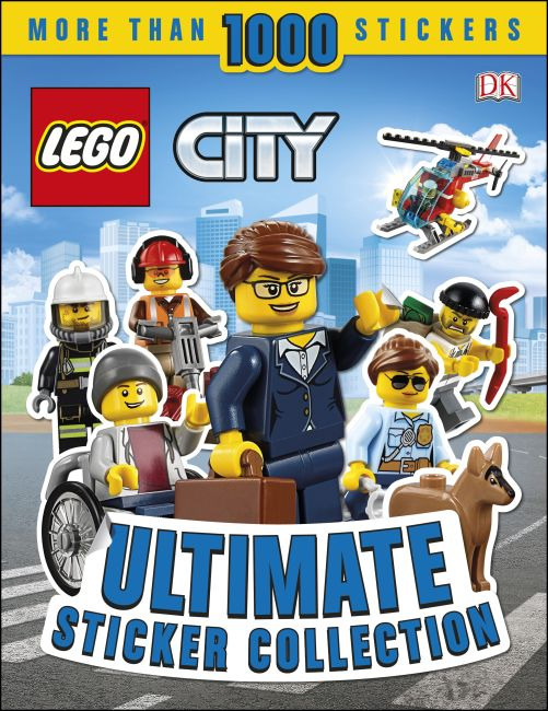 Paperback cover of LEGO City Ultimate Sticker Collection