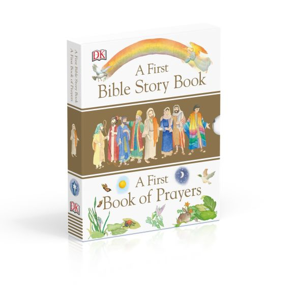 Slipcase of Editions cover of A First Bible Story Book and a First Book of Prayers