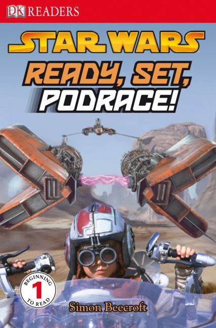 Paperback cover of DK Readers L1: Star Wars: Ready, Set, Podrace!