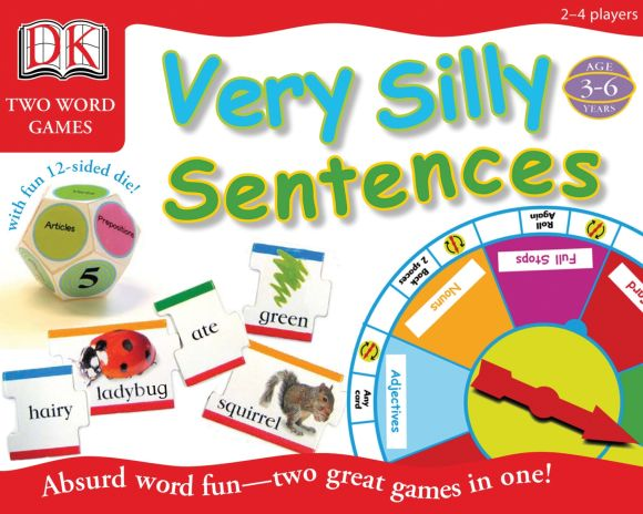 Game cover of DK Toys & Games: Very Silly Sentences