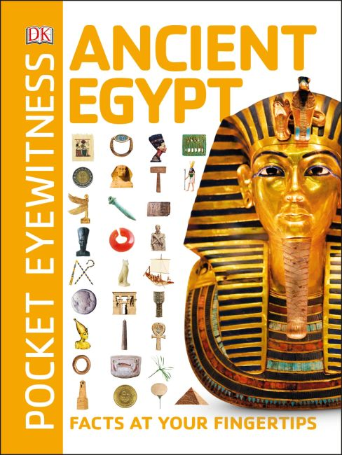 Paperback cover of Pocket Eyewitness Ancient Egypt